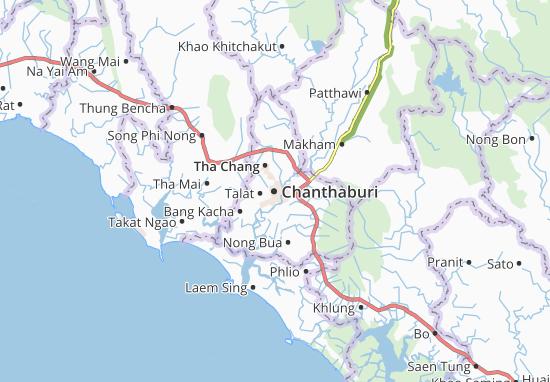 Mapa Chanthaburi