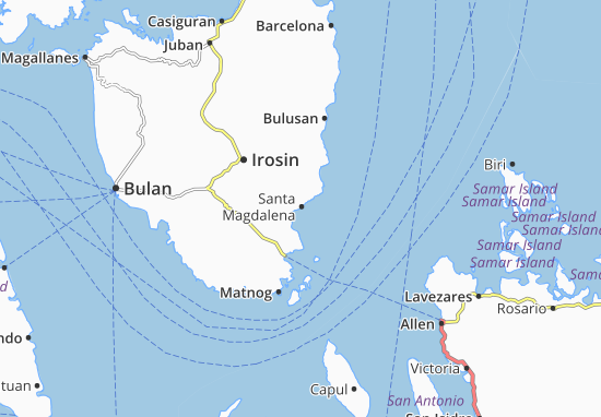 Mappe-Piantine Santa Magdalena
