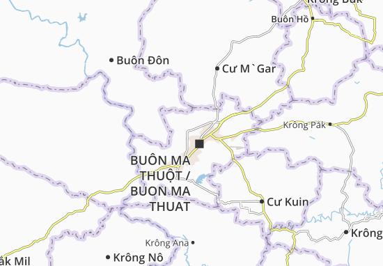 Cư Ê Bur Map