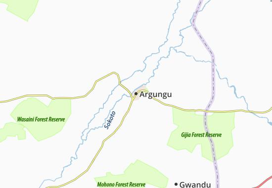 Carte-Plan Argungu