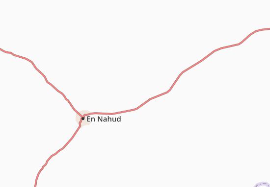 Carte-Plan Abu Mareyga al Khaggar