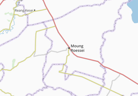 Moung Roessei Map