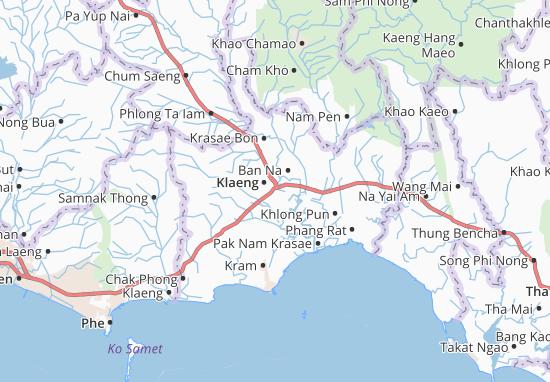 Klaeng Map