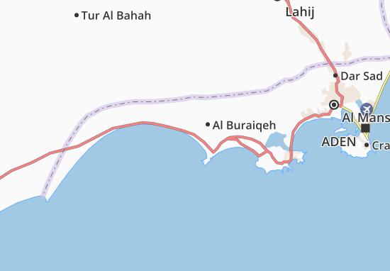 Carte-Plan Al Buraiqeh