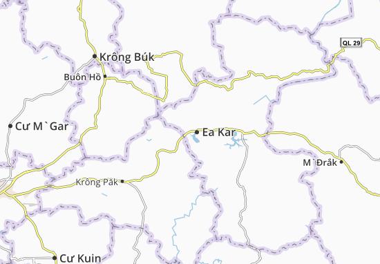 Carte-Plan Cư Huê