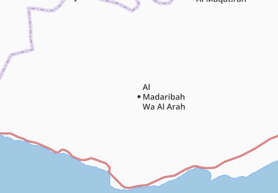 Mapas-Planos Al Madaribah Wa Al Arah