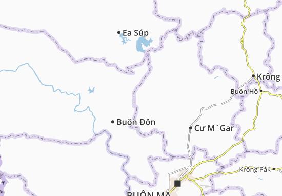 Ea M`Dróh Map