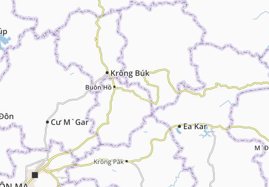 Ea Drông Map