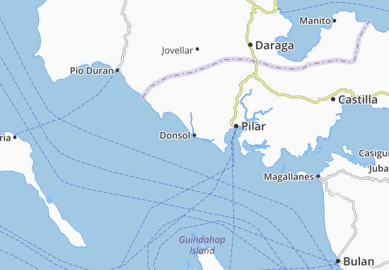Mappe-Piantine Donsol