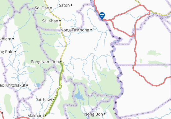 Carte-Plan Pong Nam Ron