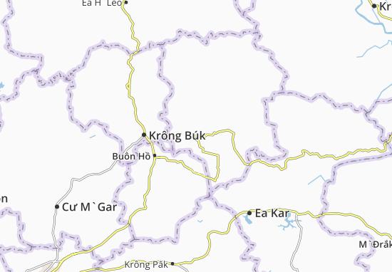 Mapas-Planos Krông Năng