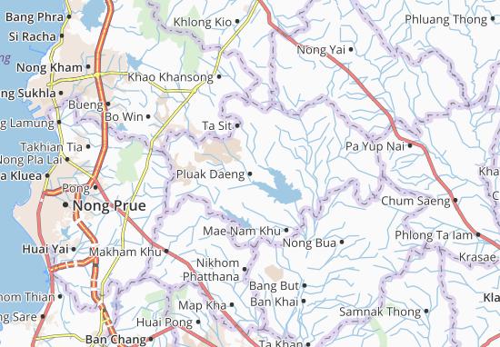 Carte-Plan Pluak Daeng