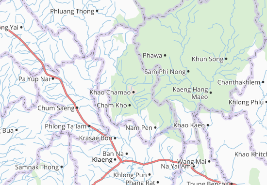 Mappe-Piantine Khao Chamao