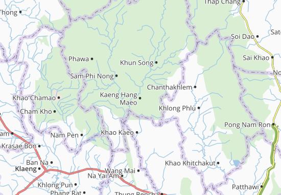 Mappe-Piantine Kaeng Hang Maeo