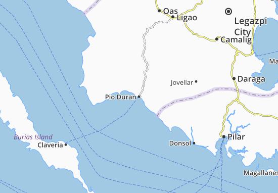 Carte-Plan Pio Duran