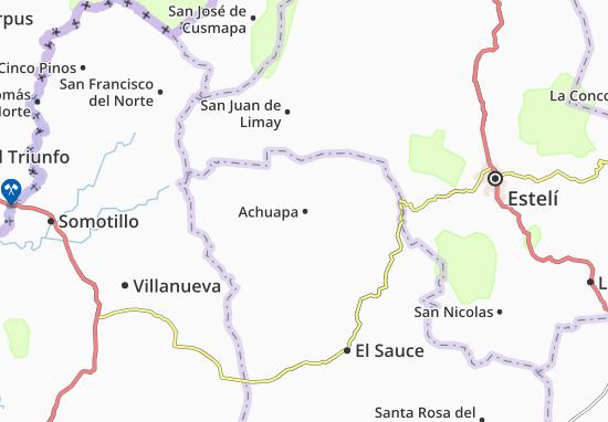Carte-Plan Achuapa