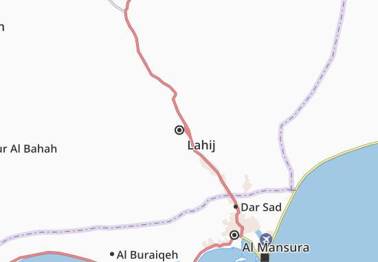 Al Hawtah Map
