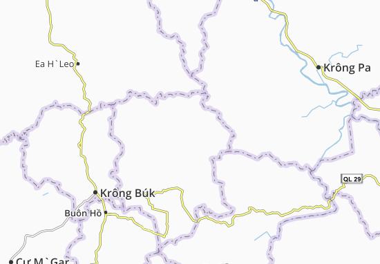 Cư Klông Map