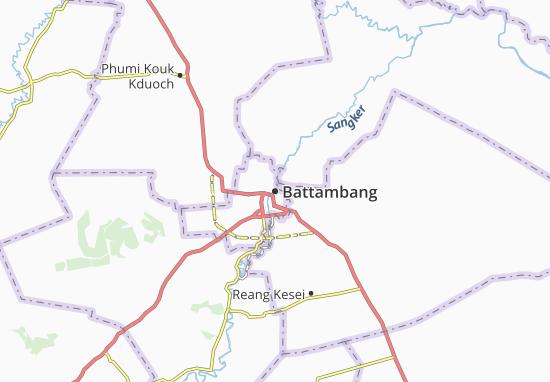 Battambang Map
