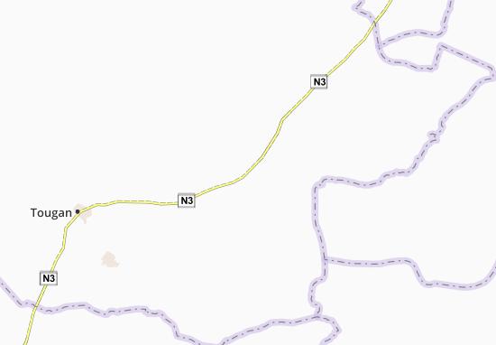 Kaart Plattegrond Bounou