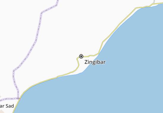Zingibar Map