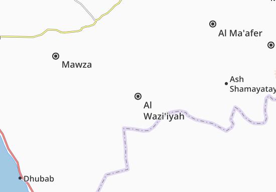 Al Wazi'iyah Map