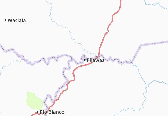 Carte-Plan Pilawas