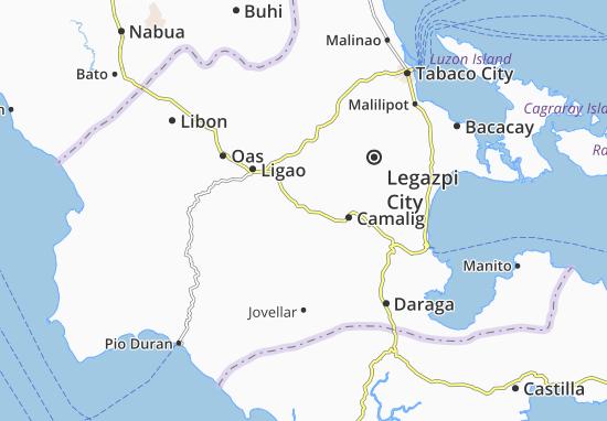 Mappe-Piantine Guinobatan
