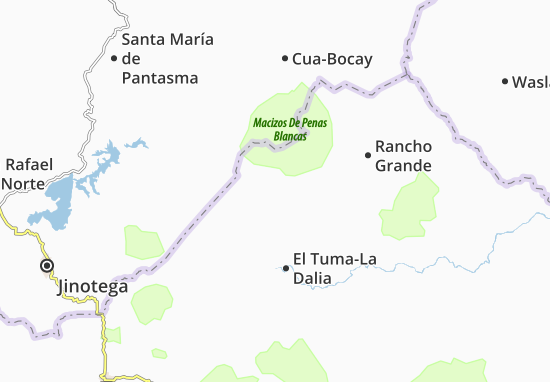 Caratera Map
