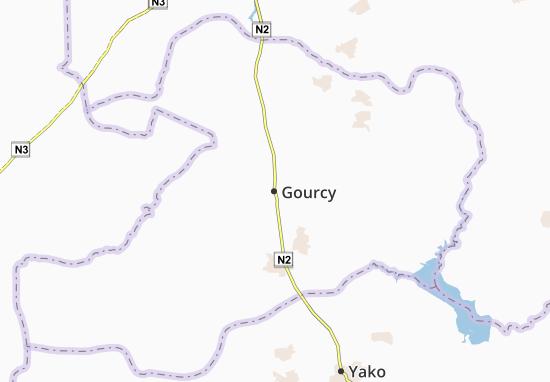 Gourcy Map