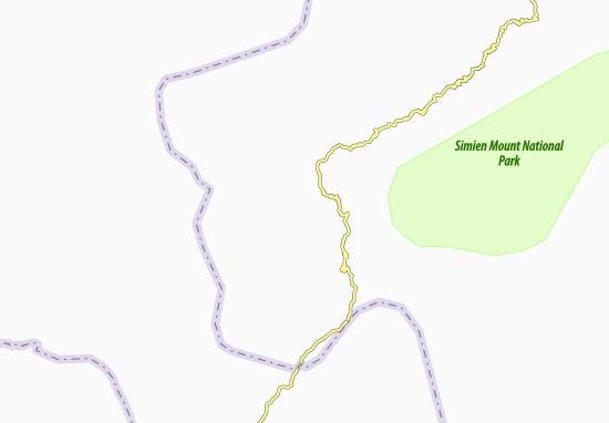 Carte-Plan Darioa