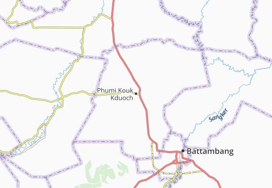 Carte-Plan Phumi Kouk Kduoch