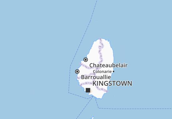 Carte-Plan Chateaubelair