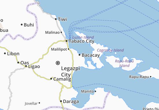 Mappe-Piantine Bacacay