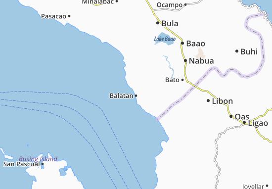 Mappe-Piantine Balatan