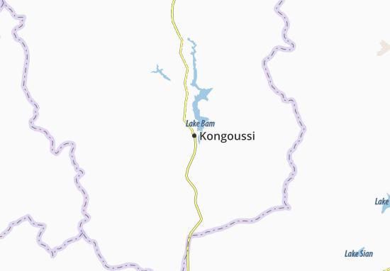 Kaart Plattegrond Kongoussi