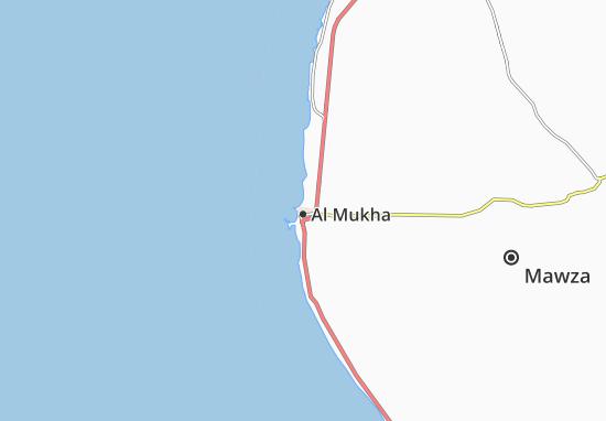 Carte-Plan Al Mukha