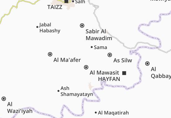 Carte-Plan Al Mawasit