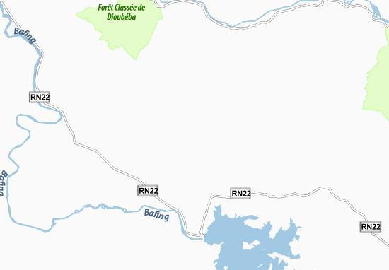 Mapa Plano Bodiarinko