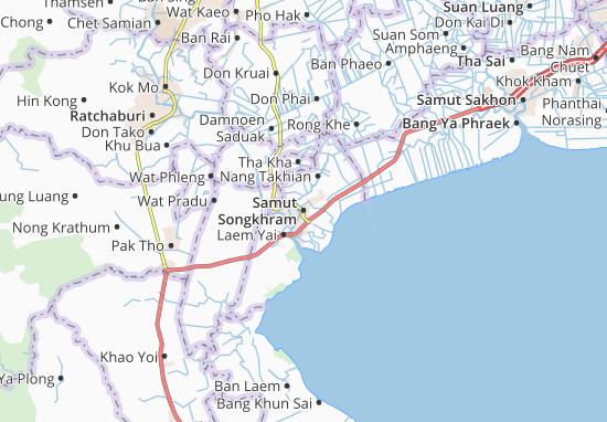 Mappe-Piantine Samut Songkhram