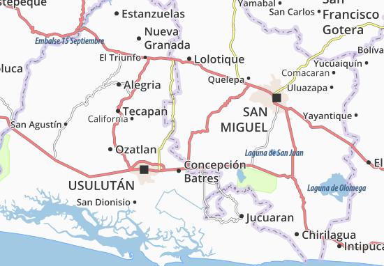 San Jorge Map