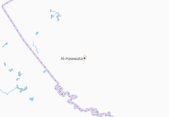 Carte-Plan Al-Hawwata