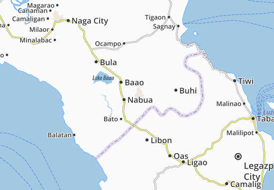 Mappe-Piantine Iriga City
