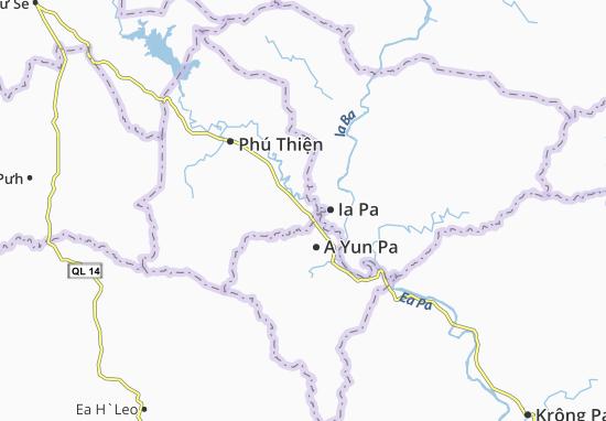 Carte-Plan Ia Hiao