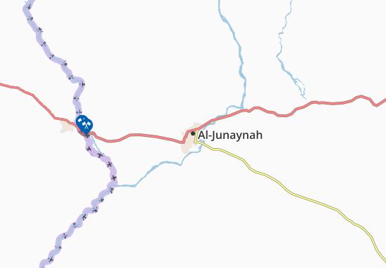Carte-Plan Al-Junaynah
