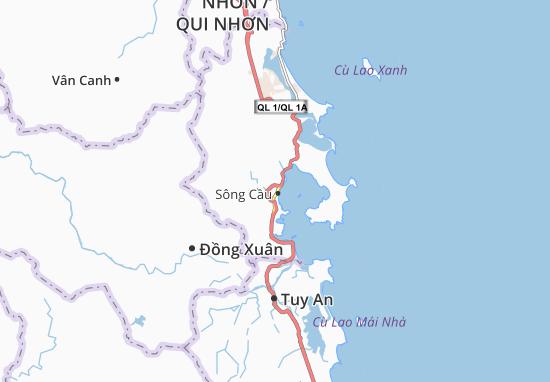 Xuân Yên Map