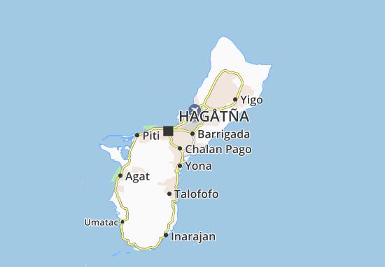 Mapa Plano Barrigada