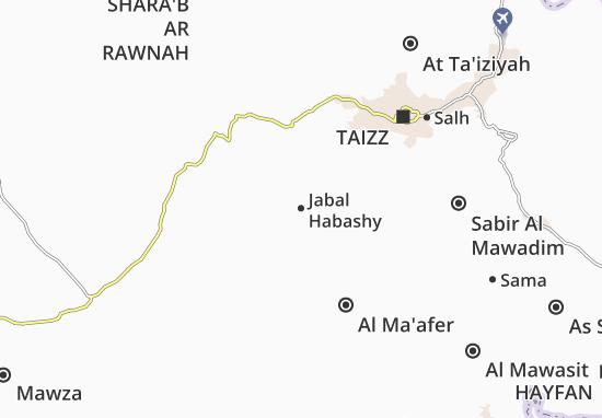 Mapas-Planos Jabal Habashy