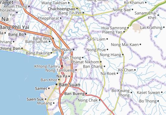 Mapas-Planos Phan Thong