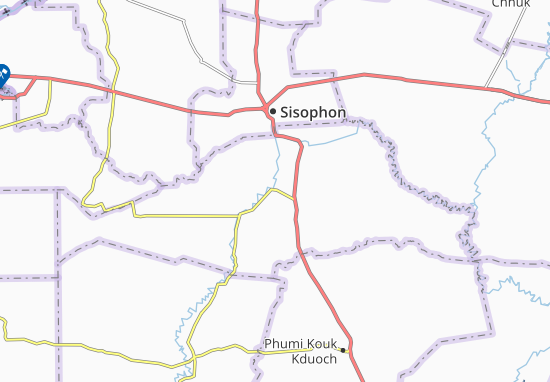 Phumi O Snguot Map